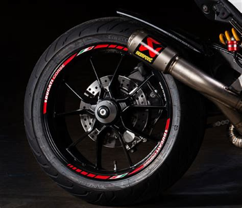 Ducati Corse Felgen Aufkleber by Motovation Frame Sliders And Accessories Shopping