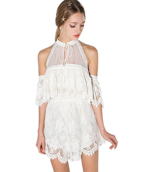 Romper Bayi Jumpsuit Lace Jumper Bayi Jumpsuit Lace 17 best images about fashion jumpsuits rompers on jumpers halter jumpsuit and