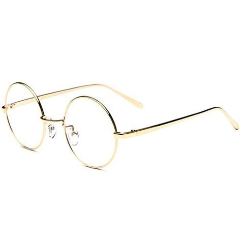 Classic Retro Glasses Black Intl big metal frame clear lens retro