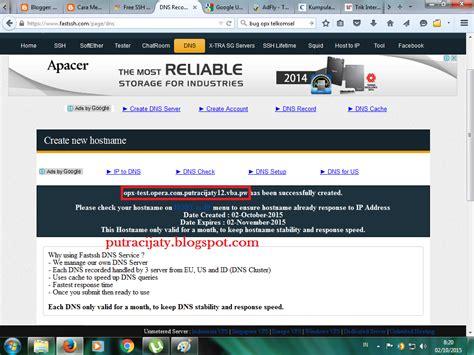 nama host terbaru telkomsel cara pointing domain ssh putra cijaty