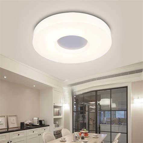 Flush Ceiling Lights Living Room Modern Led Flush Mount Surface Mounted Led Ceiling Light For Living Room Foryer Hallway Lighting