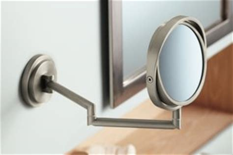 moen bathroom mirrors moen yb0892ch arris mirror chrome bathroom authority