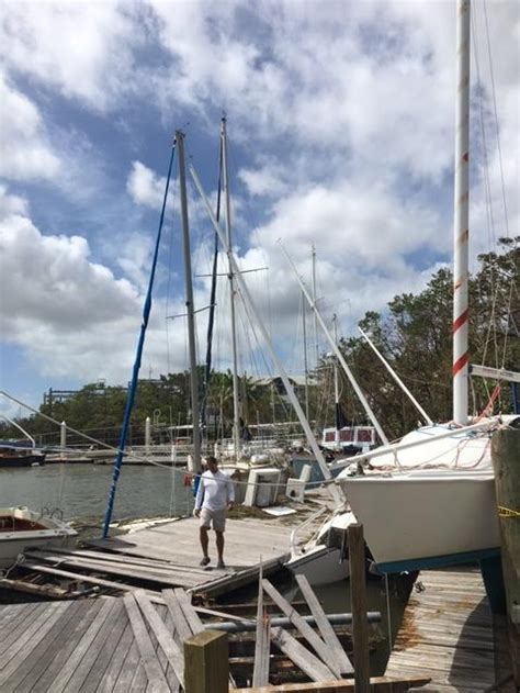 hurricane irma and boats waterfront property values in question after storm surge