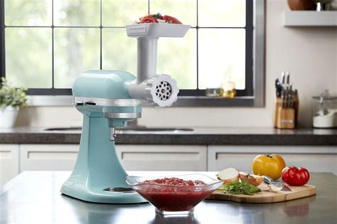 Kitchenaid Grinder Directions Kitchen Aid Food Mill Arranging Furniture In Small Narrow