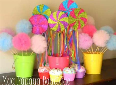 candyland images for decorations candyland decorations 17 best images about seven is so sweet birthday ideas