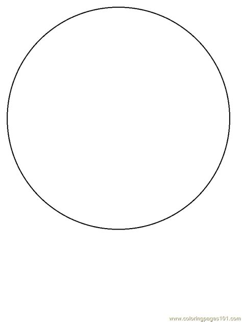 pattern circle shape free coloring pages of circle shape