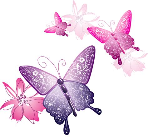 Butterfly P transparent butterfly decorative clipart png m 1377381600