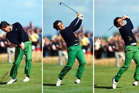 seve ballesteros swing gallery seve ballesteros through the lens today s golfer