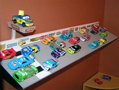 day blog archive mattel disney pixar diecast cars build   speedway shelf