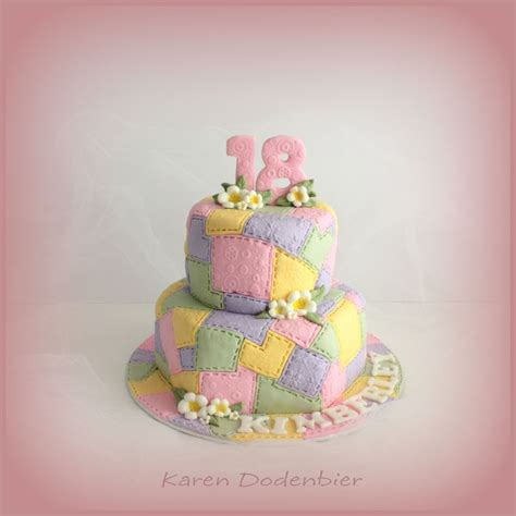 Patchwork Cakes - patchwork cake cakecentral