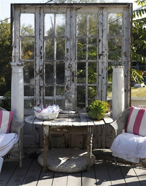 Alte Balken Im Garten by Shabby Chic Im Garten Gestalten Mit Originellen M 246 Beln Und