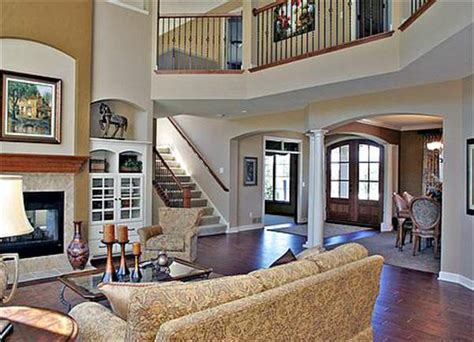 two story great room house plans featured house plan pbh 1894 professional builder