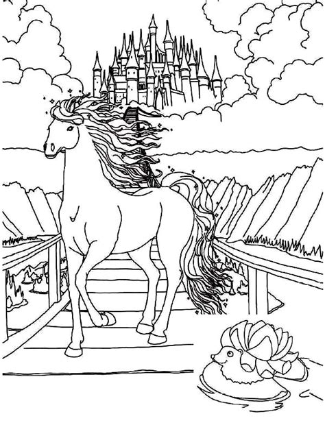 magical horses coloring pages magical horse coloring pages for teenagers coloring pages
