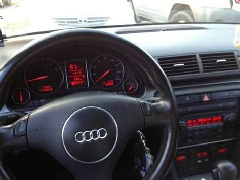 2003 audi a4 1 8 t gas mileage purchase used 2002 audi a4 1 8t quattro low dvd in