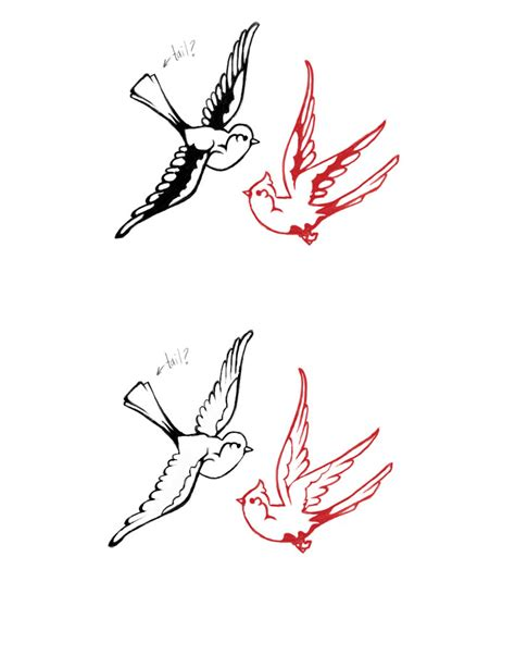 outline bird tattoo designs 5 tatoos bird designs