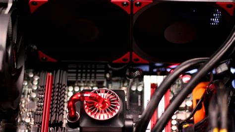 Deepcool Captain 240 Ex Liquid Cooler Unggulan deepcool captain 240 ex power on