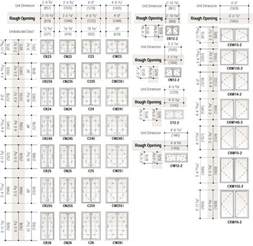 French Door Sizes Rough Opening - best 25 standard window sizes ideas on pinterest