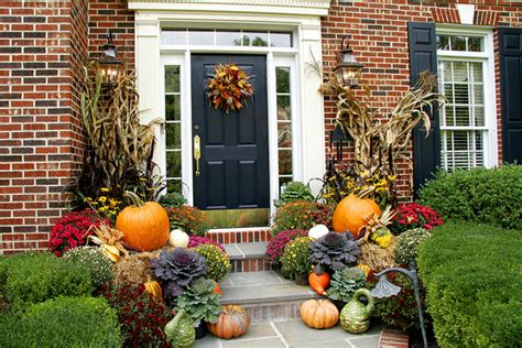 fall landscaping ideas update your outdoor fall decorations and landscape