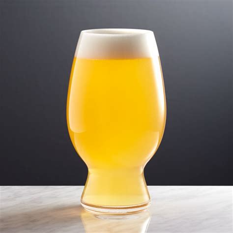 spiegelau wheat beer glass crate  barrel