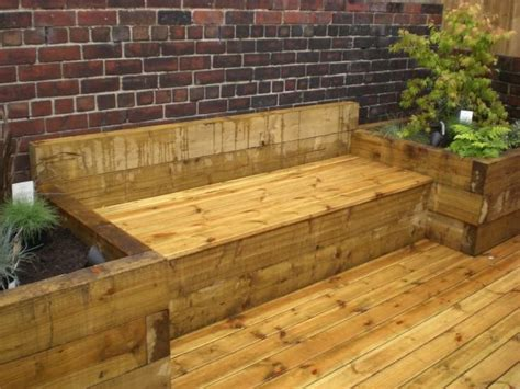 railway sleeper bench 16 best images about sleeper furniture on pinterest