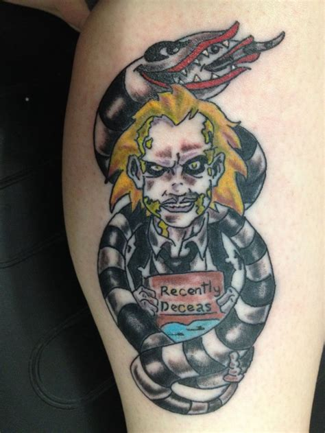 beetlejuice tattoo 1000 images about tattoos on nightmare before