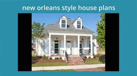 Raised House Plans New Orleans Arts With New Orleans Style Homes Plans New Home