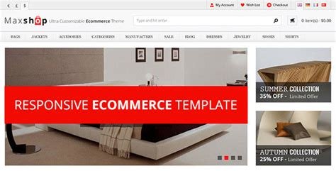 themeforest html templates responsive free download maxshop responsive html ecommerce template free download