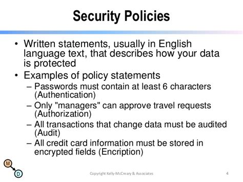 credit card security policy template nosql now webinar series migrating security policies