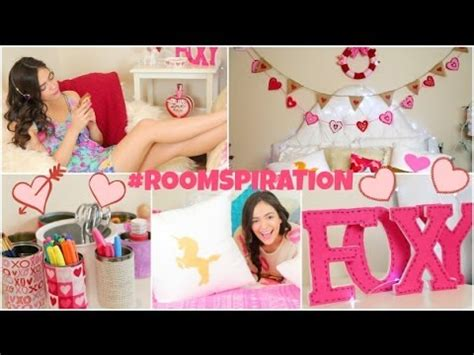 bethany mota valentines diy room decorations for s day more