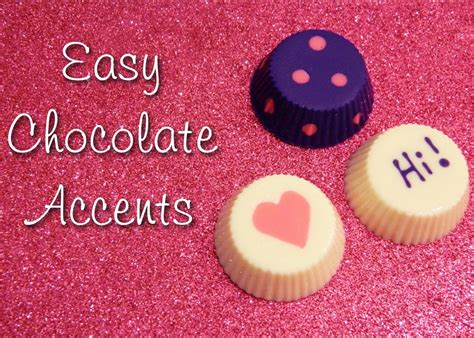 chocolate accents kc bakes tutorials