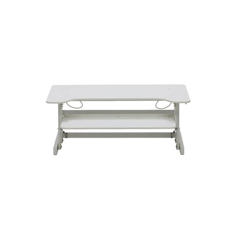 wynston sit or stand desk wynston sit stand desk large white officeworks
