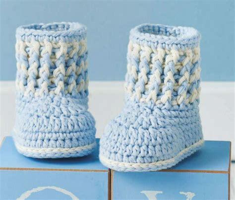 baby boy booties baby boy booties to crochet crochet kingdom