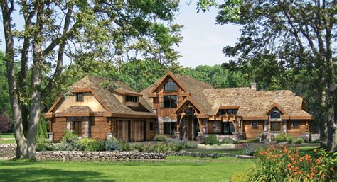 Home Ideas 187 Country Log Home Plans Country Timber Frame House Plans