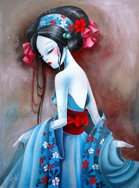 acrylic painting anime sybile acrylic and paintings ego alterego