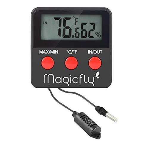 Thermometer Digital Kaku Magic magicfly hygrometer and thermometer for egg incubator reptile tank terrarium digital indoor