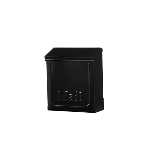 gibraltar mailboxes townhouse steel vertical wall mount