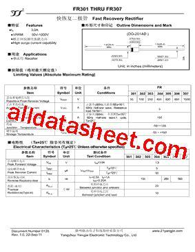 diode fr309 fr302 diode datasheet 28 images pfr856 datasheet blocking diode quotes fr302 数据表 pdf