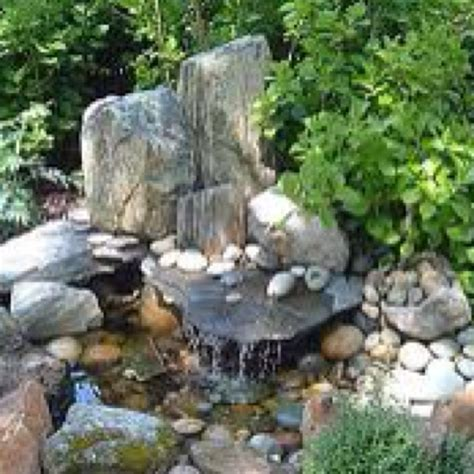 Rock Gardens Water Features Fire Pits Water Features Rock Features In Gardens
