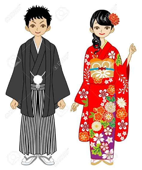 Japanese Wedding Clip by Japanese Kimono Clipart 77
