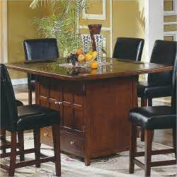 kitchen islands seating attached to family room best - Kitchen Island Table With 4 Chairs