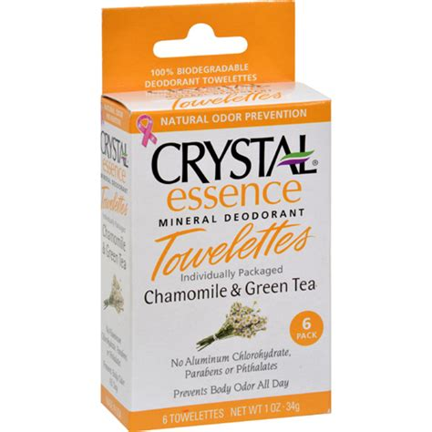 Deodorant Spray Chamomile Green Tea bettymills mineral deodorant towelettes chamomile and