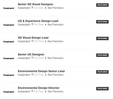 design milk jobs new design milk job board listings from gensler huntsman