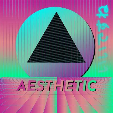 colorful vaporwave background   vectors