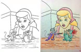 die coloring book corruptions corrupted disney coloring books the slightly warped website