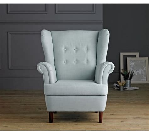 Armchairs Online Buy Collection Martha Fabric Wingback Chair Duck Egg At
