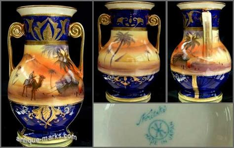 Nippon Hand Painted Vase Value Guide To Noritake China Amp Dating Noritake Marks