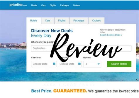 priceline reviews name your own price cruises