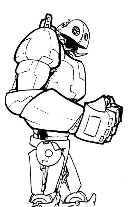Drawing Robot by Robot Samgarlandillustrations