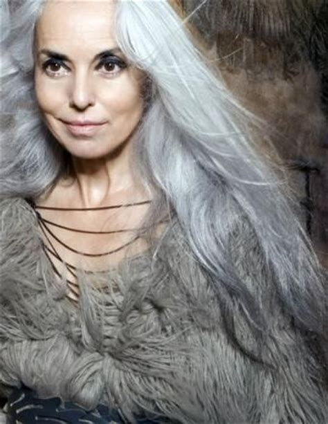 hairstyle for gray thin wavy hair beautiful gray hair cuts hair world magazine