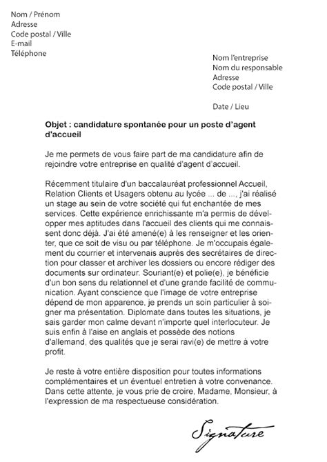 Lettre De Motivation Stage Reconversion Professionnelle lettre de motivation d accueil mod 232 le de lettre